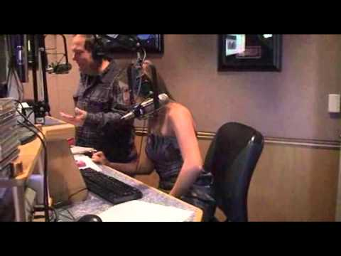 Penthouse Pet of the Year Jenna Rose on KOMP Morning Show in Las Vegas
