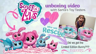 Scruff a Luvs...Did we get the Limited Edition BUNNY? Scruff-A-Luvs Unboxing Video Toy Review