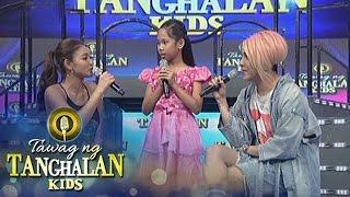Tawag ng Tanghalan Kids: Nadine's first crush