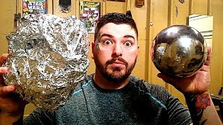 Polishing Aluminum Foil Balls –The Japanese Foil Ball Challenge
