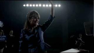 Sarah Palin Wears Her Signature 'Kazuo Kawasaki' Glasses in the Movie, Game Change (Trailer)
