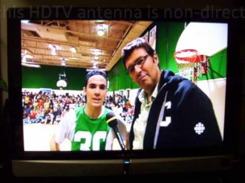 DIY Paper Clip HDTV Antenna