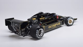 Building a Lotus Type 78 Tamiya F1 1/20 Scale Model Kit