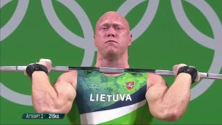 Men 94kg |Weightlifting |Rio 2016 |SABC