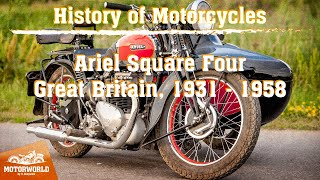 Ariel Square Four | 1940, Great Britain. Review & test-drive.