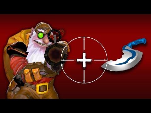 Снайпер + Даггер = Sniper + Dagger Дота 2