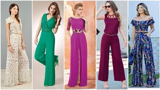 Dead stock Lace Palazo Jumpsuits/ New  Women's Jumpsuits Style