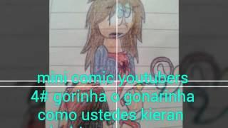 GORINHA!!! mini comic youtubers 4#