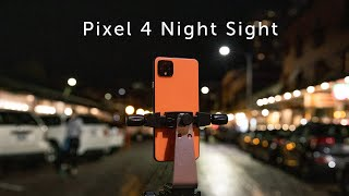 Google Pixel 4 Night Sight Hands-On Review - Mind Blowing!
