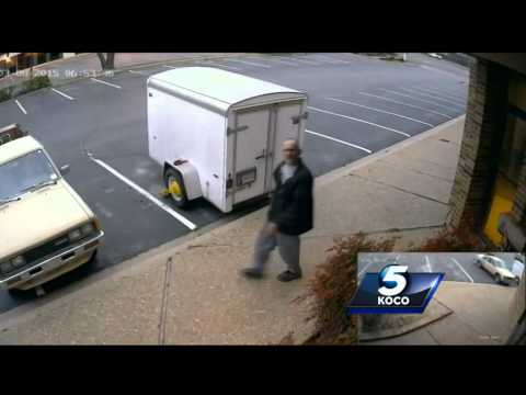 Police searching for man who stole DJ equipment from trailer