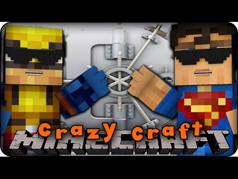 Minecraft Mods - CRAZY CRAFT 2.0 - Ep # 103 'SUPERHERO WEAPON VAULT!' (Superhero / Orespawn Mod)