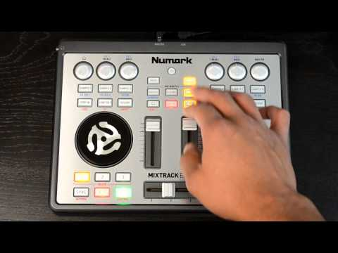 Numark Mixtrack Edge Slimline Portable Digital DJ Controller Review Video