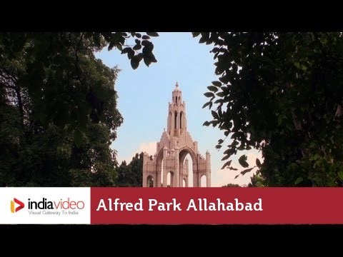 Alfred Park – popular hang out in Allahabad