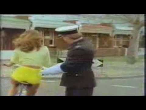 a woman on a bicycle.wmv