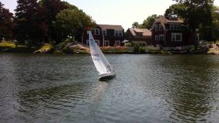 East Coast 12 Meter R/C Sailboat