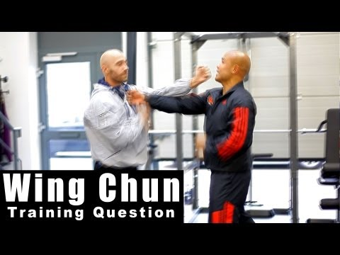 wing chun techniques - what is the centre line Q16 Image 1