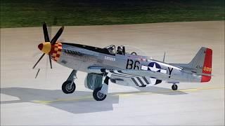 P-51 Mustang - Hong Kong (X-Plane 11)