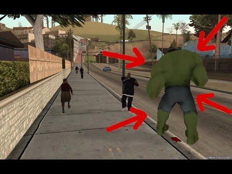 Секреты, Баги, Пасхалки в Gta San Andreas