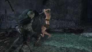 Dark Souls 2 Ryona: Alot of grabs!