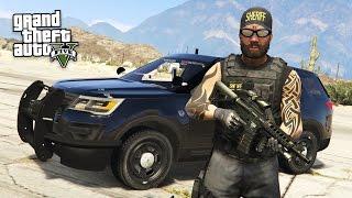 GTA 5 PLAY AS A COP MOD - BAD COP POLICE PATROL!! (GTA 5 Mods Gameplay)