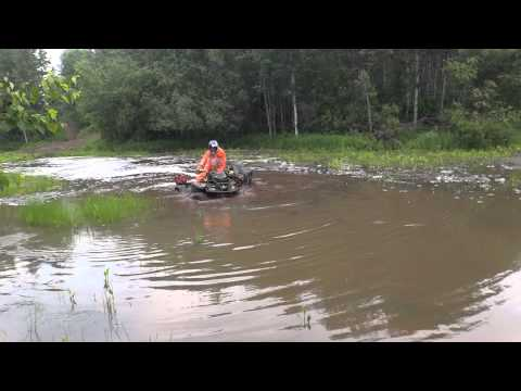 Can Am Renegade and XMR Swamp Crossing