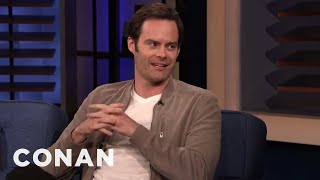"Bill Hader Loves The True Crime Show ""Snapped"" - CONAN on TBS"
