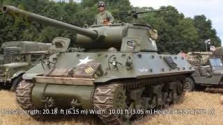 TOP 5 Heavy Tanks American WW2 Documentary Part 1. Best Military Vehicles USA