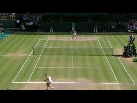 Marion Bartoli wins Wimbledon 2013: Highlights v Sabine Lisicki