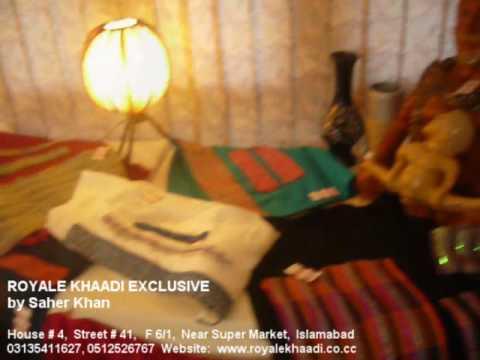 Royale Khaadi Exclusive by Saher Khan