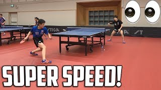 Wonderkid Harimoto | Relentless Topspin Training | Swedish Open 2017!