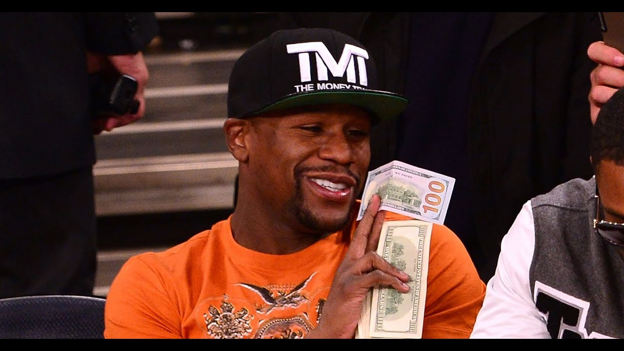 American boxer, floyd mayweather jr is not called the money man just for fun