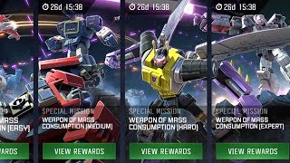 *NEW* KICKBACK SPECIAL MISSION GAMEPLAY (HARD) #2 - TRANSFORMERS : Forged To Fight