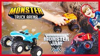 Beach Monster Truck Arena!
