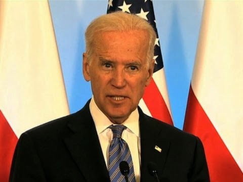 Biden condemns Russia's land grab in Ukraine
