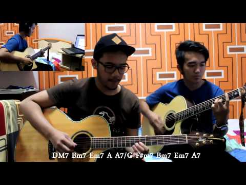 DEPAPEPE - Kiss [Full Cover+ChordSub] By Arief & Ridhwan
