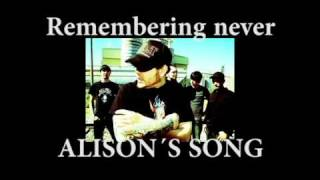 Watch Remembering Never Alisons Song video