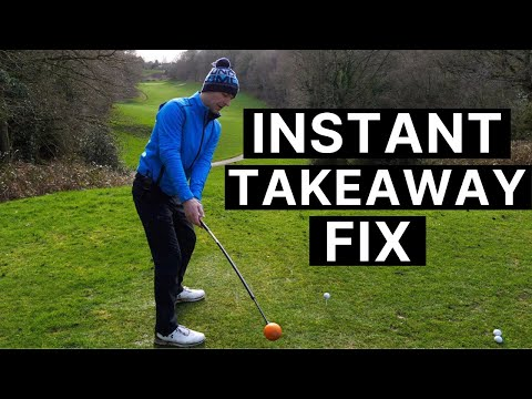PERFECT GOLF SWING TAKEAWAY DRILL - For Your Driver & Irons