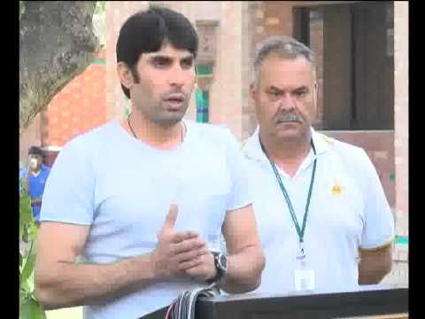 Misbah ul Haq & PCB Officels Champions Trophy Performance Press Conf Pkg City42
