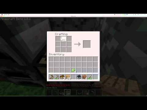 minecraft how to make paper, book, bookshelf - YouTube