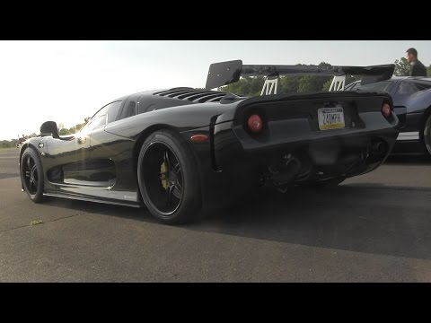 LOUD Mosler RaptorGTR - HARD Acceleration!