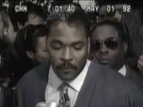 Can We All Just Get Along? For The Kids & Old People? Rodney King Speaks! video