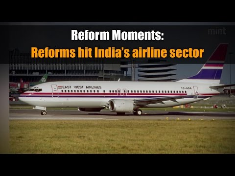 Reform Moments | Reforms hit India's airline sector