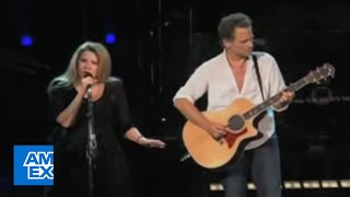 Stevie Nicks And Lindsey Buckingham Sing 34 Landslide 34 Live American Express