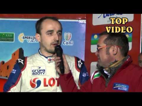KUBICA ROBERT VINCITORE 5° RALLY DI SPERLONGA 2013 By TOP VIDEO