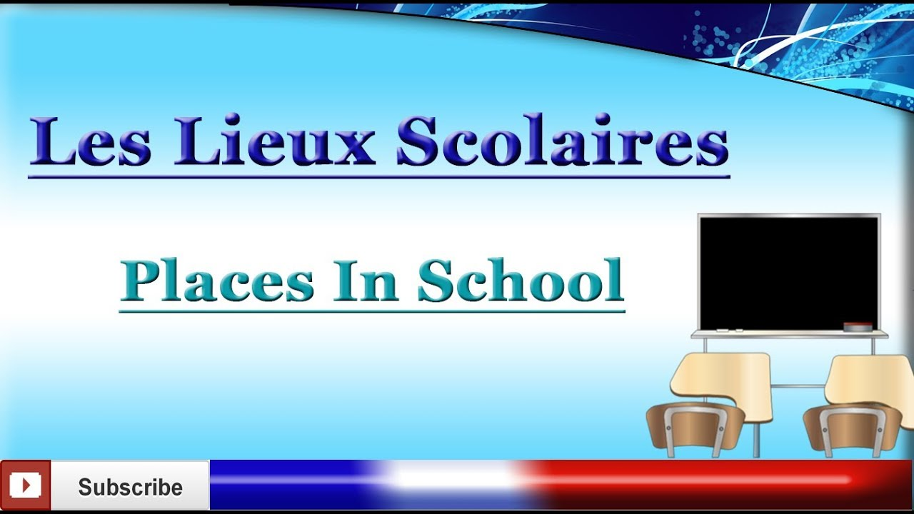 Learn French Schools School Rooms Vocabulary Youtube