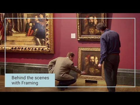 Behind the scenes at the Framing Department | The National Gallery, London