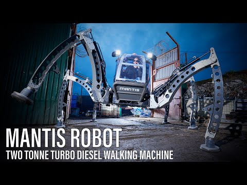 Mantis - Hexapod Walking Machine Tests 2012