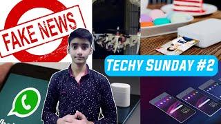Techy Sunday #2 -| Transparent Phone, Xiaomi Photo Printer, Foldable Drone, Whatsapp, ...| Tech news