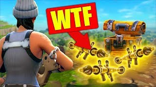 The LUCKIEST LOOT EVER In Fortnite Battle Royale!