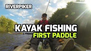 Kayak fishing - First paddle (video 93)